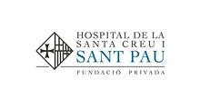 Logo Fundació Privada Hospital de la Santa Creu i Sant Pau